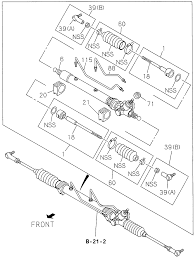 8 97170 450 0 genuine honda rod end assy outer rh hondapartsnow honda element rear suspension diagram 2002 honda accord front wheel suspension