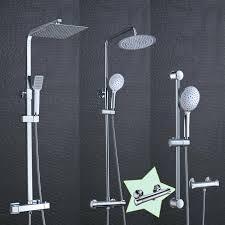 Duschsystem Thermostat Regendusche Duschset Duschsäule