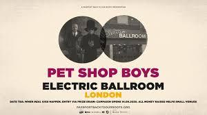 <b>Pet Shop Boys</b> at Electric Ballroom, London - a Music crowdfunding ...