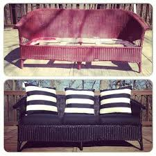 Amazing Update And Refurbish Wicker Furniture With Spray Paint!    29 Cool
