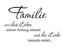 Wandtattoo Wo Das Leben Familienspruch Wandtattoode