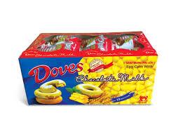 Bánh trứng Dove phủ sữa – Bánh kẹo Nam Hương