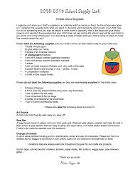 Confortable Kindergarten Classroom Supply List For Teachers For A