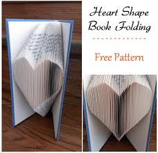 Book Folding Patterns Fascinating Book Folding Patterns Free Download Heart Pattern Crafting News