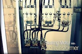 starting motor with auto transformer 3 Phase Motor Wiring Schematic for Starter Autotransformer Motor Starter Wiring Diagram #28
