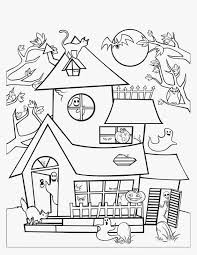 Small Picture Free Printable Halloween Coloring Pages Haunted House Olegandreev