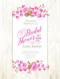 Bridal Shower Invites Templates Vintage Wedding Shower Invitations Vintage Bridal Shower 16
