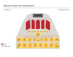 Wa State Fair Grandstand Seating Chart Pepsi Grandstand Missouri State Fair
