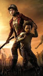 video game the walking dead the final season 1080x1920 mobile wallpaper