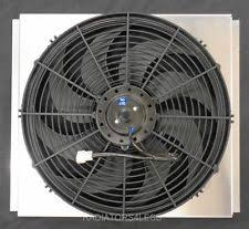radiators4less new all aluminum radiator fan shroud w 16