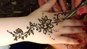 рисунок на руке