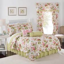 Checked Country Manor European Sham  Toile Bedding Blue Ivory Country Style Comforter Sets