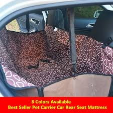 clear seat covers dog cat car seat cover safety pet waterproof hammock blanket cover