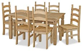 Pine Kitchen Tables And Chairs Pine Dining Room Sets Intercon Solid Pine Dining Table Hayden