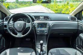 aboard the 2016 suzuki ciaz