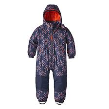 Rivp Chart Patagonia Baby Snow Pile One Piece Riverbird Paintbrush Red