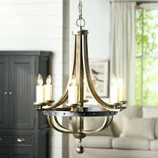 real candle chandelier lighting august grove 6 light candle style chandelier reviews