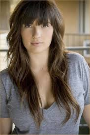 Hairstyles With Blunt Fringe Curly Hair With Blunt Bangs