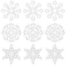 Printable Snowflake Template Providentparksquare Info