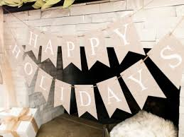happy holidays banner free. Wonderful Holidays Make This DIY  In Happy Holidays Banner Free A
