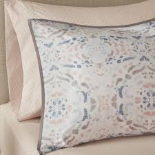 madison park essentials nima blush printed complete comforter and cotton sheet set free today com 23886828