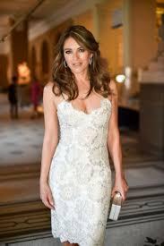Liz Hurley defies age in plunging dress ...