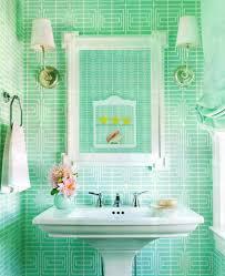 Modern Bathroom Colors Bright Green Bathroom Tiles Bring A Pretty Pop Of Fun Colors