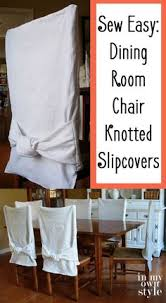 embellish a little make these slipcovers for dining room chairs to instantly add flair to