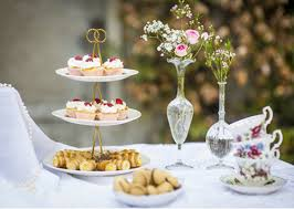 Bridal Shower Tea Party Decor Catering: