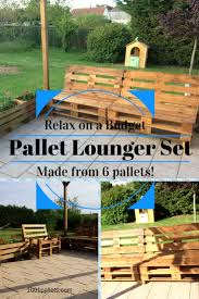 diy outdoor pallet furniture. My Relaxing Pallet Lounge Corner Set / Mon Petit Coin Détente Diy Outdoor Furniture O