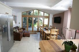 kitchen garden room extension wallpaper