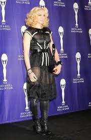 Image result for Madonna , hall of fame