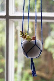 diy hanging plant stand ideas