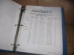 cub cadet home maintenance manual engine parts books 772 3958 cub cadet home maintenance manual engine parts books 772 3958 3