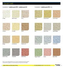 Weber Monocouche Colour Chart Coloured Rendering Colourcoat Ltd
