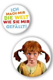 Pippi Langstrumpf Buttons 2 Teilig