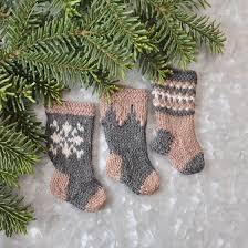 christmas stocking set. Plain Christmas Nordic Christmas Stocking Ornament Set In S