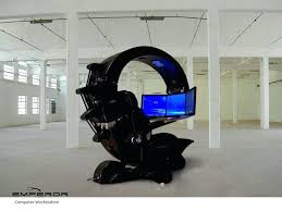 futuristic home office. Futuristic Computer Desk Cool Workstation Awesome Hi Tech And Home Office Design Ideas With O