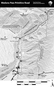 Colorado Mileage Chart Medano Pass Primitive Road Great Sand Dunes National Park