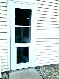 cat flap door panel