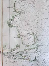 Gulf Of Maine Chart Amazon Com Gulf Of Maine New England 1879 Nautical Chart Us