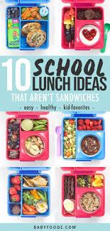 10 easy healthy lunch ideas