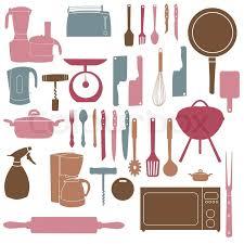 vintage kitchen utensils illustration. Brilliant Illustration Vector Illustration Of Kitchen Tools For Cooking  Stock Colourbox Inside Vintage Kitchen Utensils Illustration U