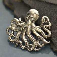 jewelry supplies octopus pendant
