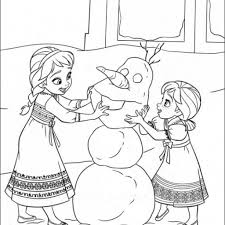 Small Picture Stylish Free Printable Frozen Coloring Pages intended to Motivate