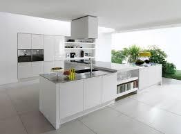 Open Kitchen Concept Monochrome Kitchen Concepts For Small Size Kitchen Island