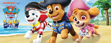 Paw Patrol Live The Great Pirate Adventure Pinnacle Bank