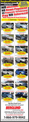 Lynchburg News and Advance used Car Ads- advertisement News and ...
