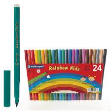"Купить <b>Фломастеры CENTROPEN</b> ""<b>Rainbow Kids</b>"", 24 цвета ..."