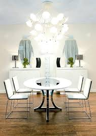 Contemporary art furniture Metal Decoration View In Gallery Modern Art Dining Room With Round Table And White Chairs Contemporary The Dump Decoration Art Style Bedroom Furniture Modern Interior Design